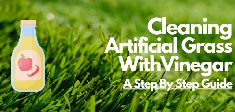 cleaning artificial grass with vinegar